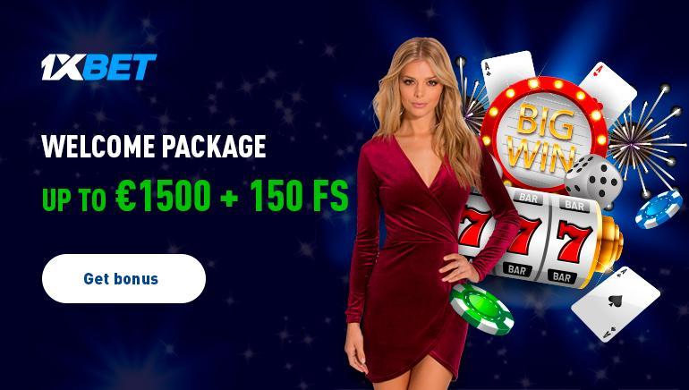 Casino of 1xBet live
